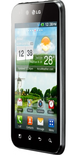 Фото телефона LG P970 Optimus Black