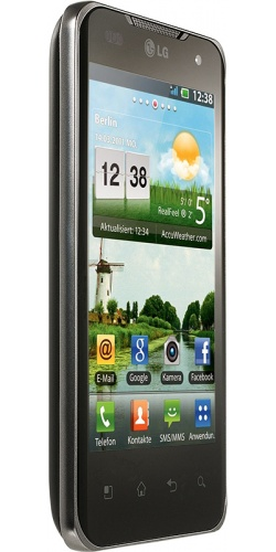 Фото телефона LG P990 Optimus 2X black