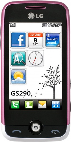 LG GS290 Cookie Fresh light purple