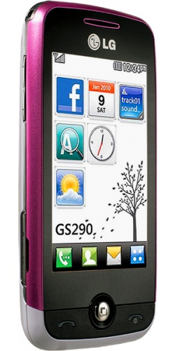 Фото телефона LG GS290 Cookie Fresh light purple
