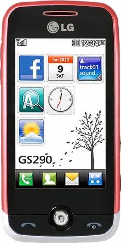LG GS290 Cookie Fresh pink