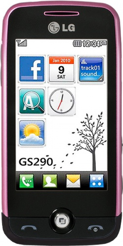 LG GS290 Cookie Fresh purple