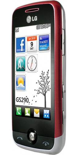 Фото телефона LG GS290 Cookie Fresh red