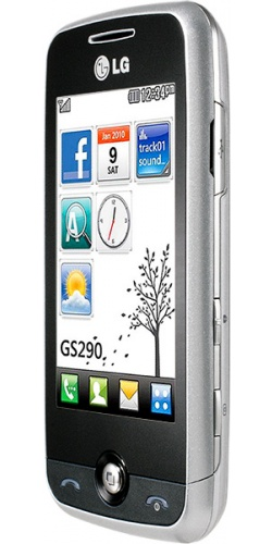 Фото телефона LG GS290 Cookie Fresh silver