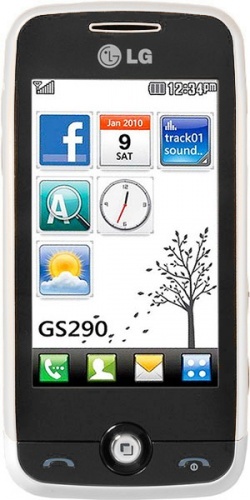 Фото телефона LG GS290 Cookie Fresh white