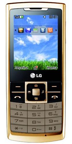 Фото телефона LG S310 gold