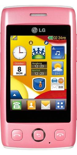 LG T300 Cookie Lite pink