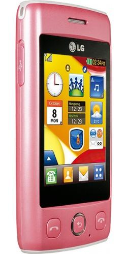 Фото телефона LG T300 Cookie Lite pink
