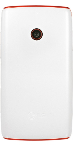 Фото телефона LG T300 Cookie Lite white orange