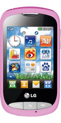 Фото телефона LG T310i pink