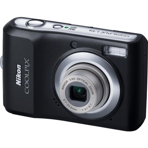Nikon Coolpix L20 black metallic