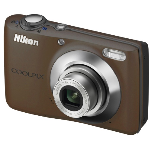 Nikon Coolpix L21 brown