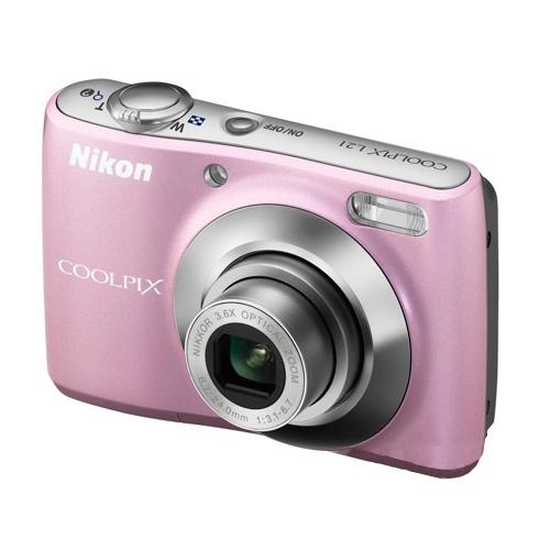 Nikon Coolpix L21 pink