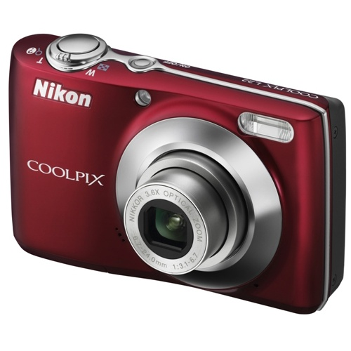 Nikon Coolpix L22 red
