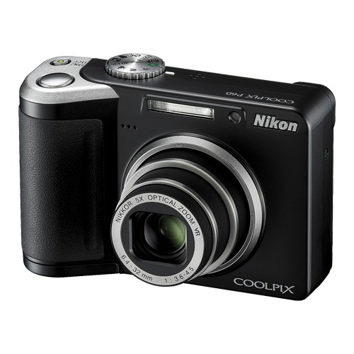 Nikon CoolPix P60 black