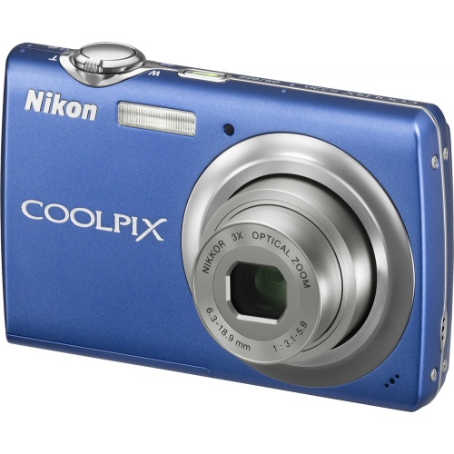 Nikon Coolpix S220 cobalt blue