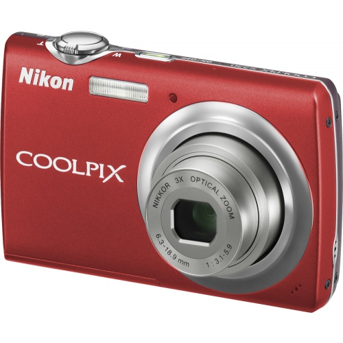 Nikon CoolPix S220 red