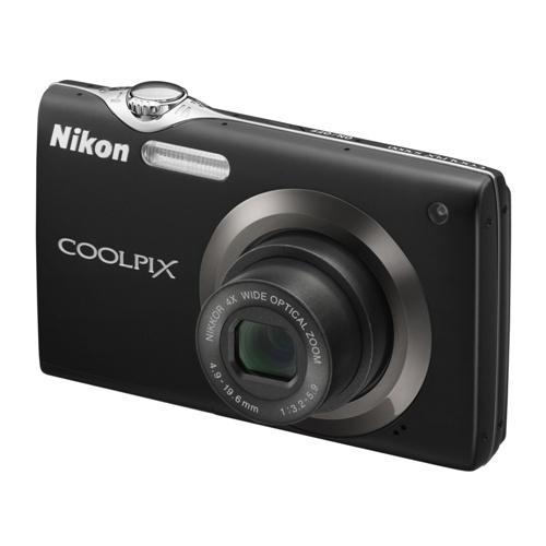 Фотография Nikon Coolpix S3000 black
