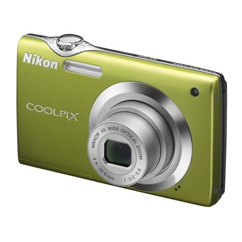 Nikon Coolpix S3000 green
