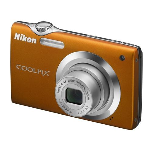 Nikon Coolpix S3000 orange