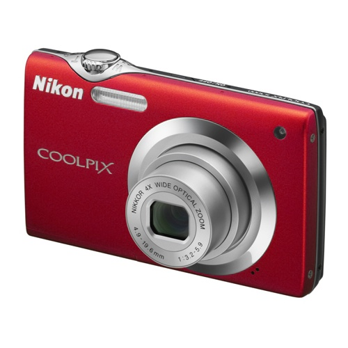 Nikon Coolpix S3000 red