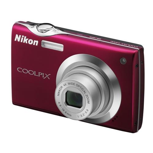 Фотография Nikon Coolpix S4000 red