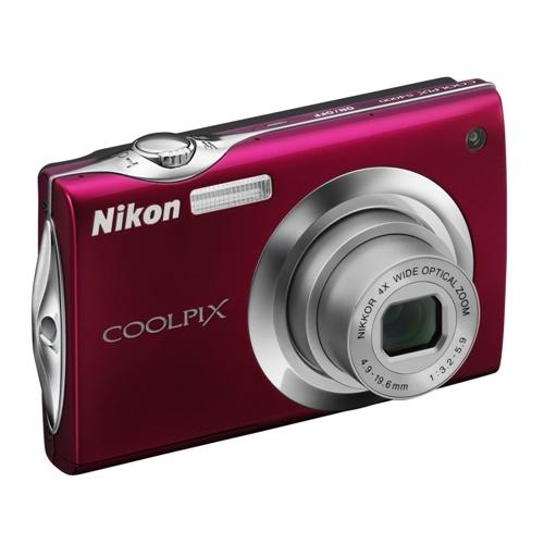 Фото Nikon Coolpix S4000 red