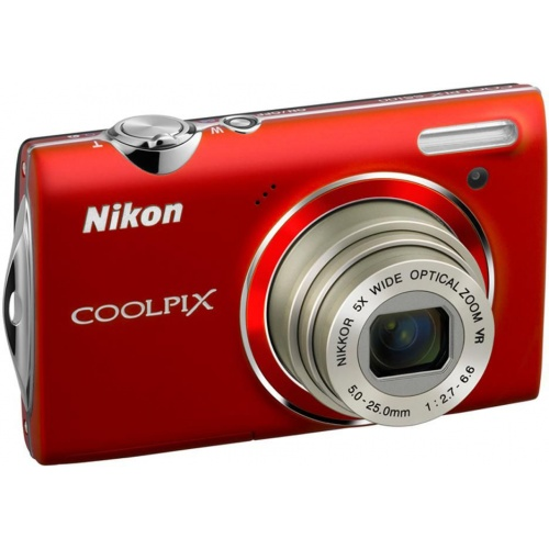 Nikon Coolpix S5100 red