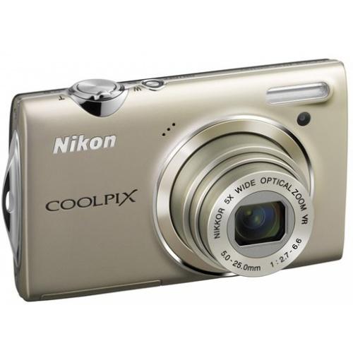 Nikon Coolpix S5100 silver