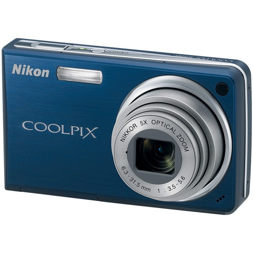 Nikon CoolPix S550 blue