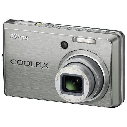 Nikon CoolPix S600 silver