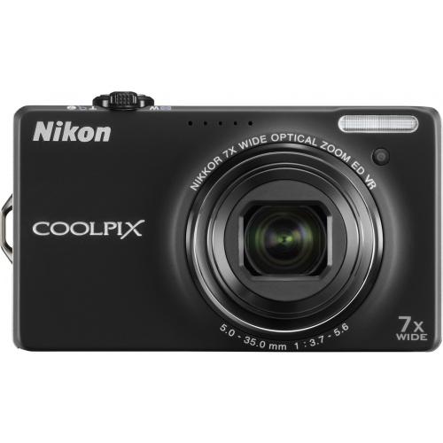 Фото Nikon Coolpix S6000 black