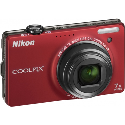 Фото Nikon Coolpix S6000 red