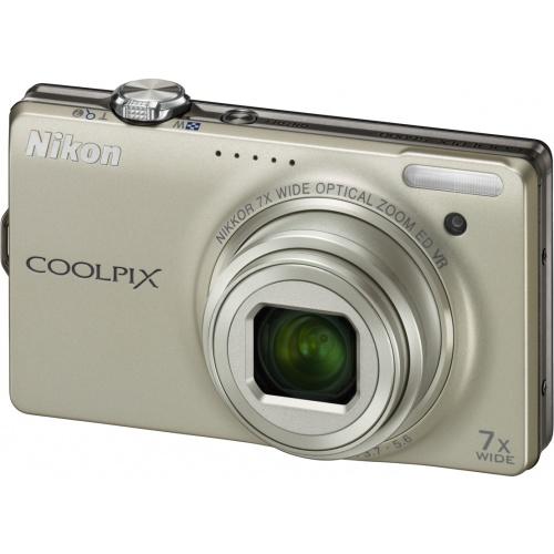 Фотография Nikon Coolpix S6000 silver