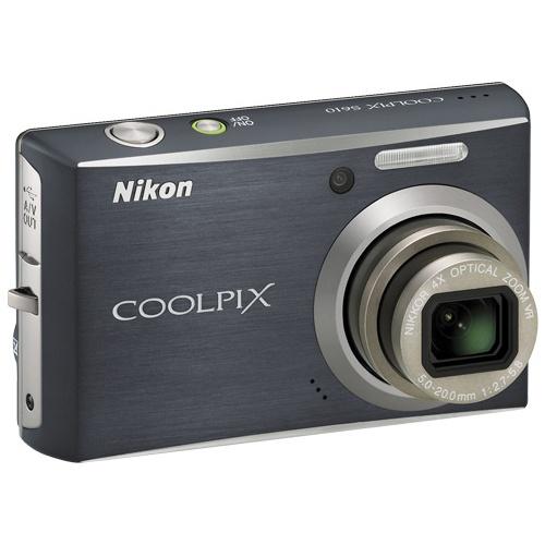 Фото Nikon Coolpix S610 black
