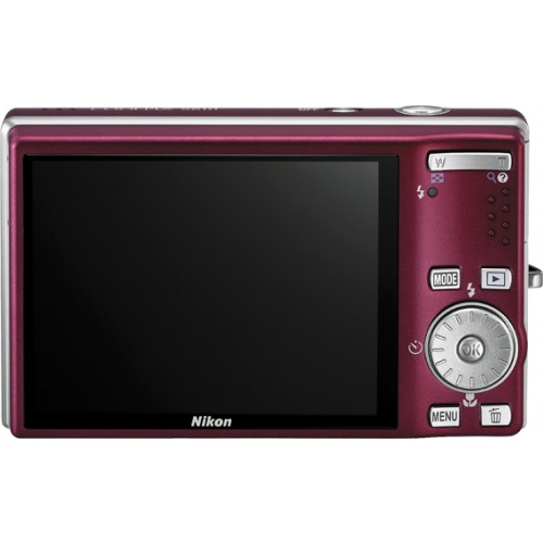 Фото Nikon Coolpix S610 red