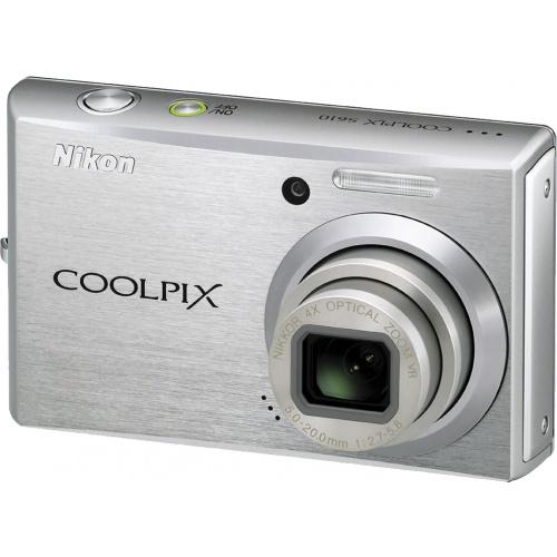 Фотография Nikon Coolpix S610 silver