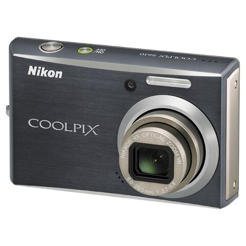 Фото Nikon Coolpix S610c black