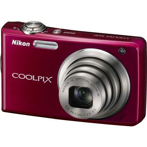 Nikon Coolpix S630 red