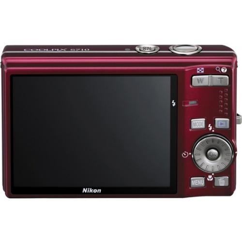 Фото Nikon Coolpix S710 red