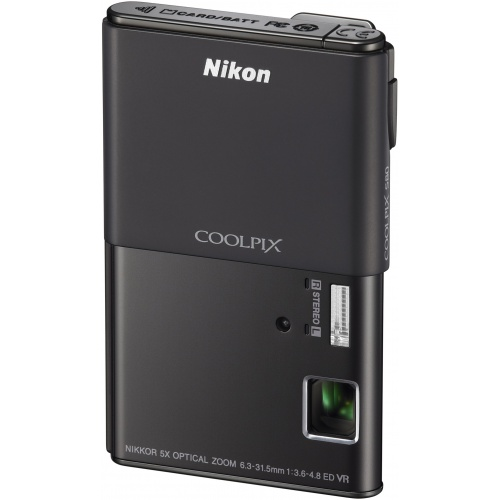Фото Nikon Coolpix S80 black