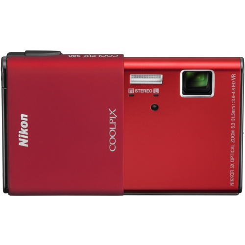 Nikon Coolpix S80 red