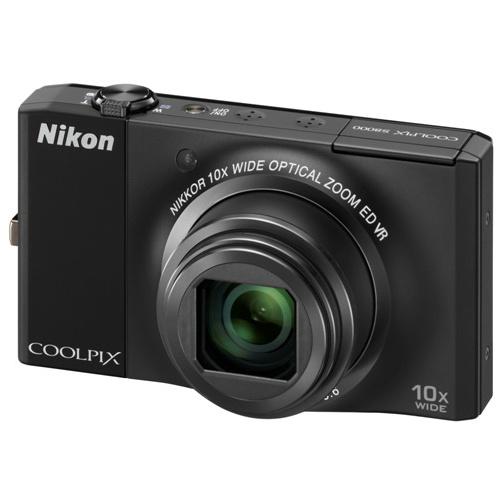 Фотография Nikon Coolpix S8000 black