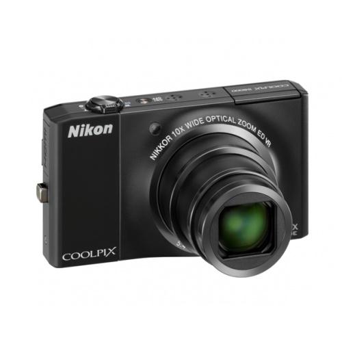 Фото Nikon Coolpix S8000 black