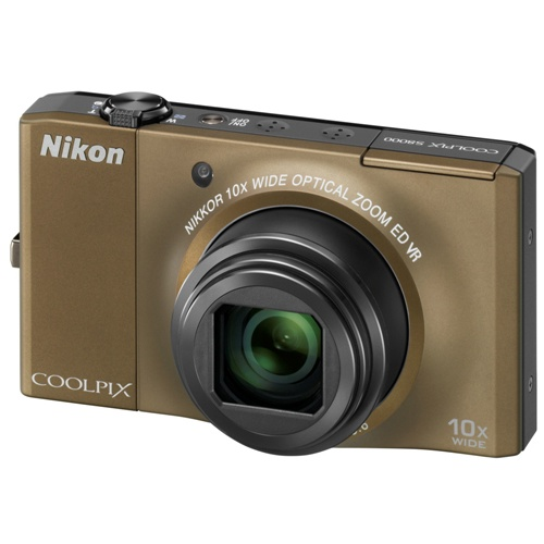 Фотография Nikon Coolpix S8000 brown