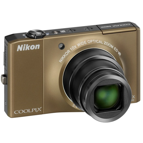 Фото Nikon Coolpix S8000 brown