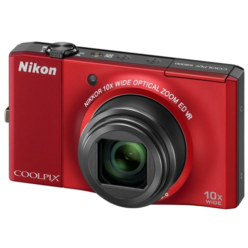 Фотография Nikon Coolpix S8000 red