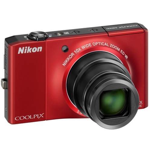 Фото Nikon Coolpix S8000 red