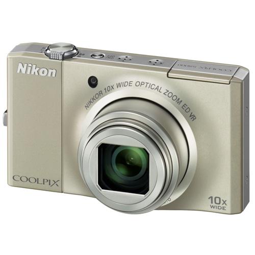 Nikon Coolpix S8000 silver