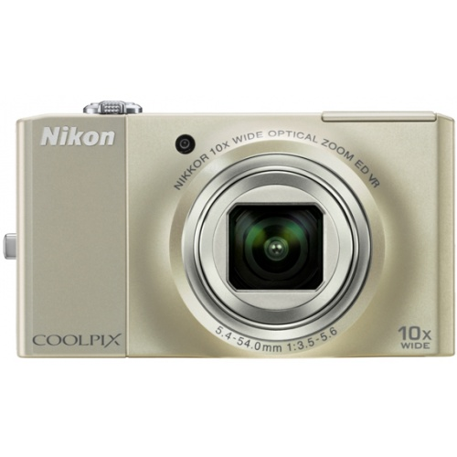 Фото Nikon Coolpix S8000 silver